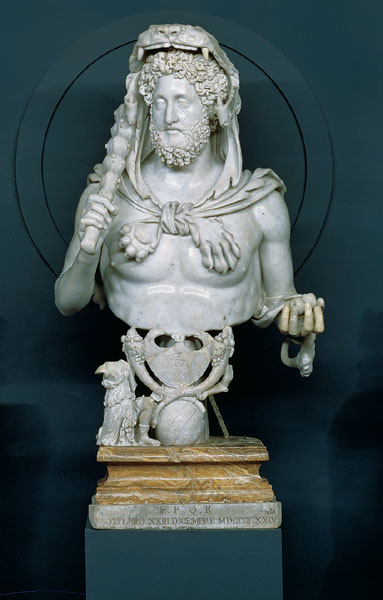 Nero, The emperor who set fire to Rome, considered bad enough to have the verb black be coined, who sang as if he had a toad in his throat, who tortured and killed anyone who disliked him.
